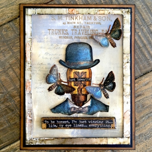 Tim Holtz Stampers Anonymous STEAMPUNK Stamp Set